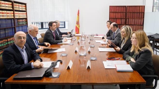 reunion-de-la-comision-formada-por-el-gobierno-de-navarra-y-el-organismo-estatal-de-inspeccion-de-trabajo-y-seguridad-social